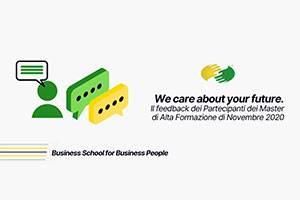 We care about your future: feedback e recensioni dalle prime lezioni