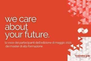 We care about your future: le opinioni dei Partecipanti dei Master di Maggio 2021