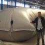 Reattore tessile di biogas: la nuova frontiera sul trattamento dei rifiuti organici